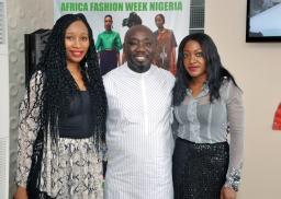 Ronke Ademiluyi (Founder, AFWN); Abiola Aloba & Yetty Ogunnubi