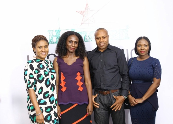 L-R: Senior Brand Manager – Heineken, Mrs. Ngozi Nkwoji, Founder StyleHouseFiles & Lagos Fashion and Design Week, Omoyemi Akerele, Corporate Media & Public Relations Manager - Heineken, Mr. Edem Vindah & Creative Director, Fashion Focus, Wadami Amolegbe at the recent #HeinekenLFDW Press Cocktail
